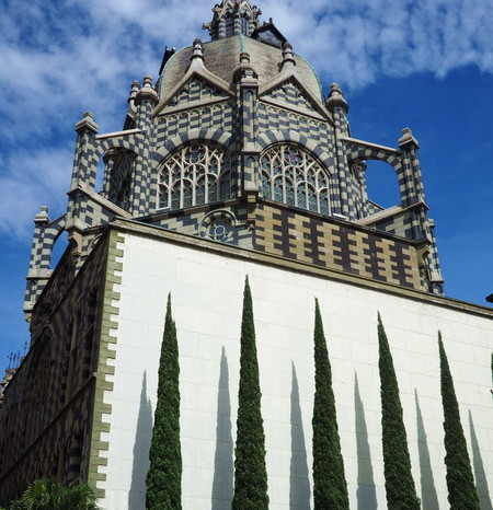 Colombia - Stunning Rafael Uribe Uribe Palace of Culture, Plaza Botero, Medellin