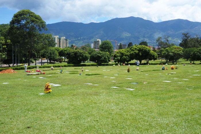 Colombia - The cemetery where Pablo Escobar is buried, Medellin