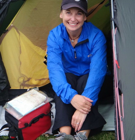 Colombia - We were very happy to be camping again!  Alto de Minas pass