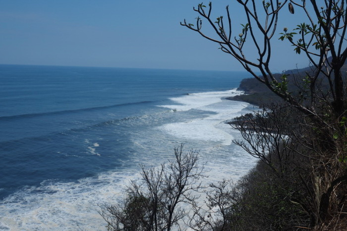 El Salvador - Beautiful views on the coastal road to El Tunco, El Salvador