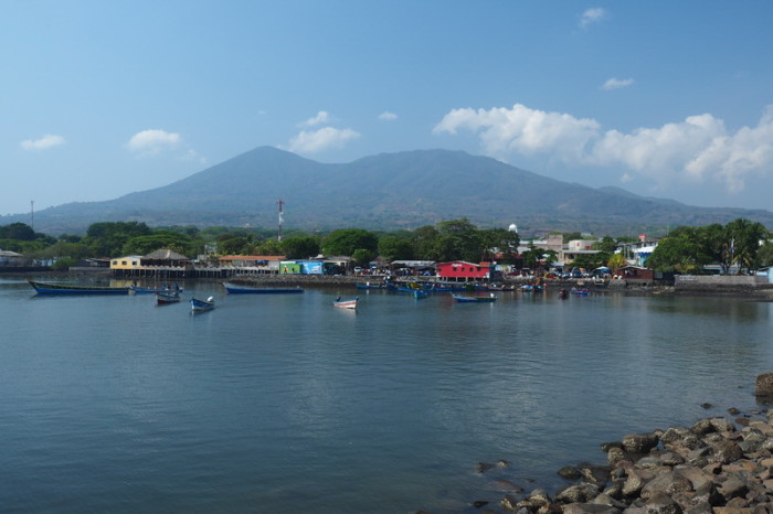 El Salvador - The harbour at La Union, El Salvador