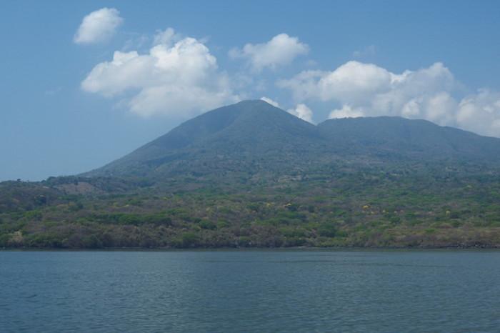 El Salvador - Conchagua Volcano, near La Union, El Salvador