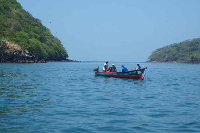 El Salvador - Views from our boat ride to Nicaragua