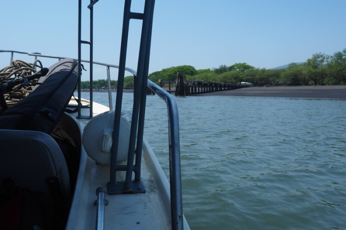 Nicaragua - Approaching the port of Potosi, Nicaragua