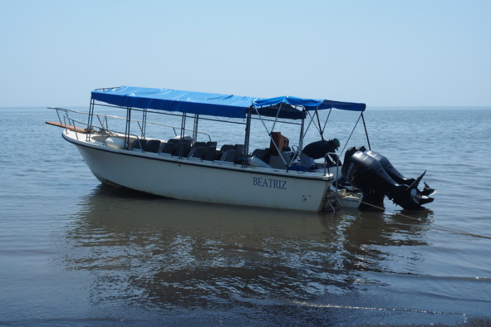 El Salvador - Our boat from La Union, El Salvador to Potosi, Nicaragua