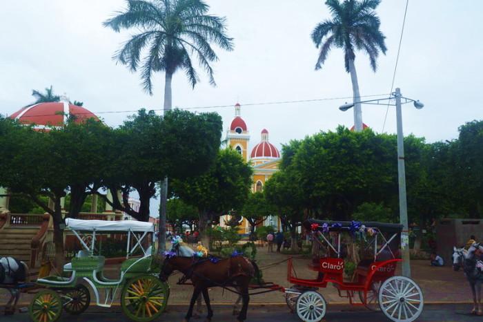 Nicaragua - Central Park, Granada, Nicaragua