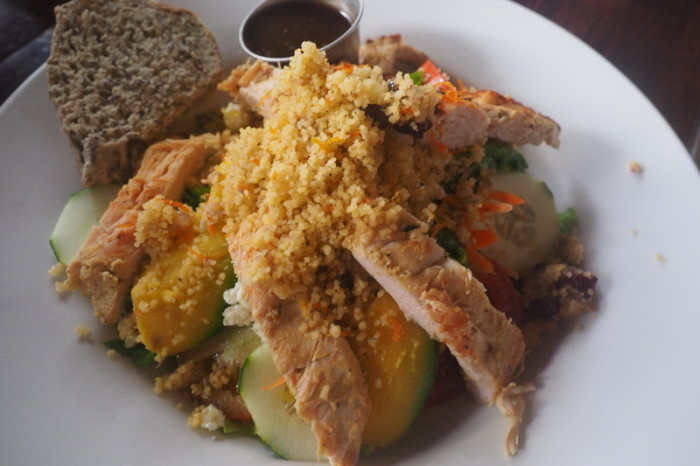 Nicaragua - Lunch at the Garden Cafe, Granada, Nicaragua