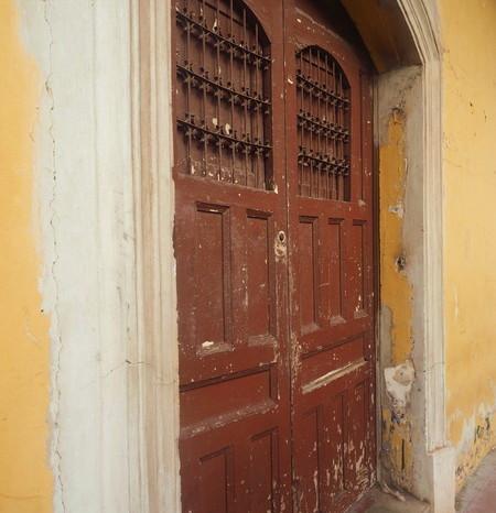 Nicaragua - Beautiful old door, Granada, Nicaragua