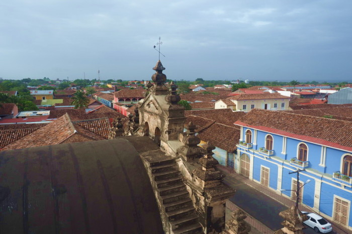 Nicaragua - Views from the Iglesia de la Merced, Granada, Nicaragua