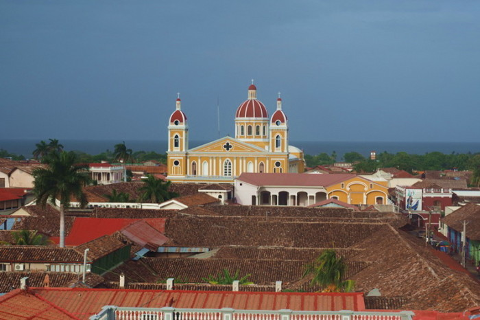 Views from the Iglesia de la Merced, Granada, Nicaragua