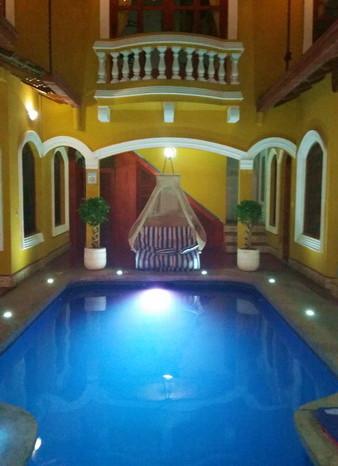Nicaragua - Our fabulous Hostal in Granada - Casa Del Agua
