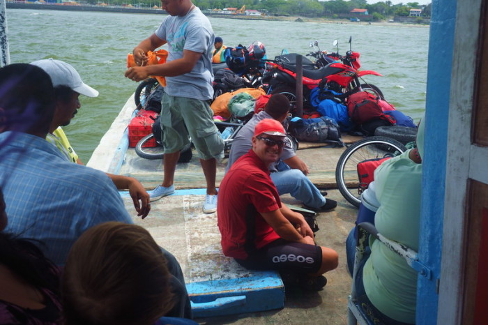 Nicaragua - Catching a local boat to Ometepe Island, Nicaragua