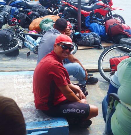Nicaragua - Catching a local boat to Ometepe Island, Nicaragua