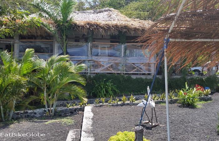 "Nicaragua - ""Natural"" Vegetarian Restaurant, Santo Domingo Beach, Ometepe Island, Nicaragua"