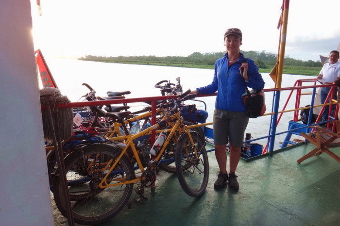 Nicaragua - On the ferry to San Carlos, Nicaragua