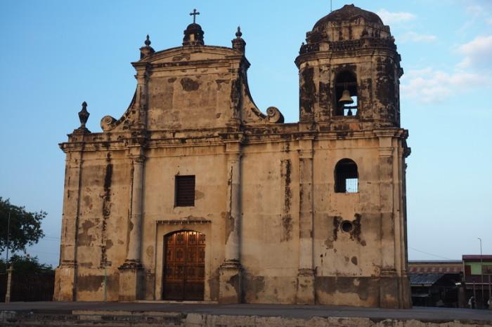 Nicaragua - Beautiful old church in Leon, Nicaragua