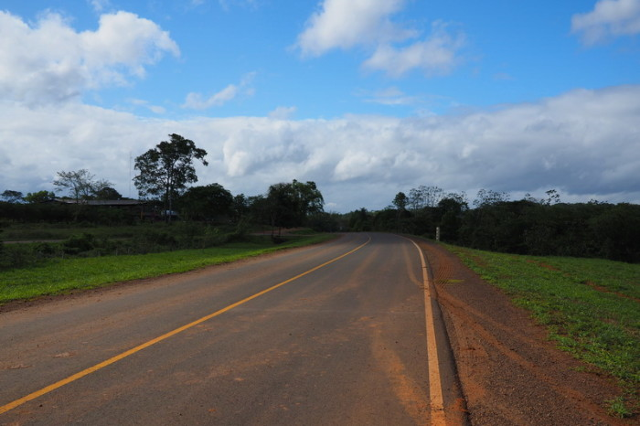Nicaragua - Enjoying the new Japanese built highway to the border with Costa Rica, Nicaragua