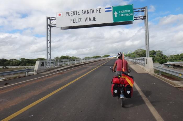 Nicaragua - Japanese built Santa Fe Bridge, Nicaragua