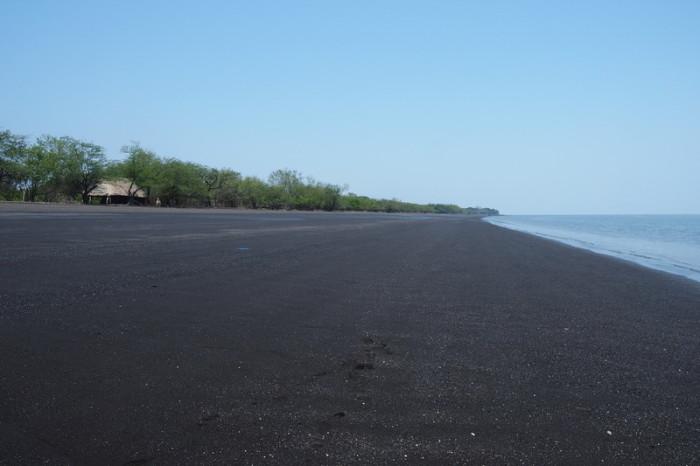 Nicaragua - The beach at Potosi, Nicaragua