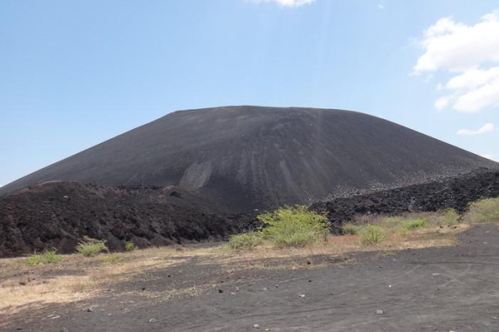 Nicaragua - Arriving at Cerro Negro Volcano for some volcano boarding, Nicaragua
