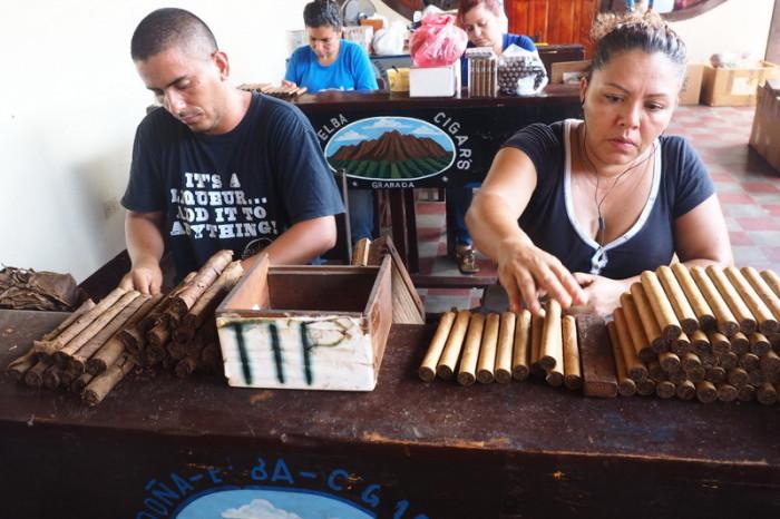 Nicaragua - Dona Elba Cigar tour, Granada, Nicaragua