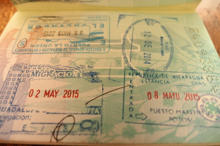 Nicaragua - Another stamp ... this time for Nicaragua