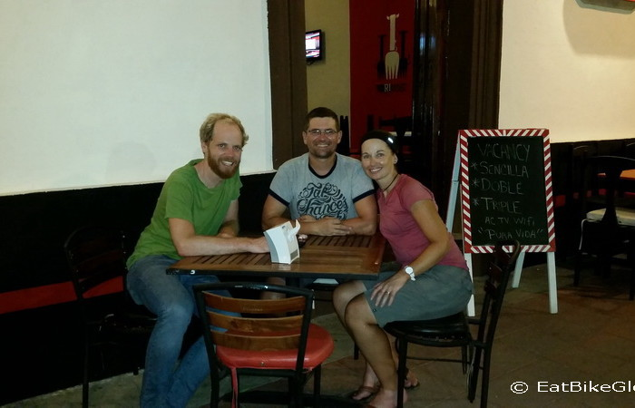 Nicaragua - Farewell dinner with Ben in Granada, Nicaragua