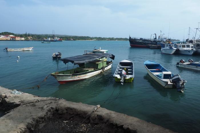 Nicaragua - The harbour at Big Corn Island, Nicaragua