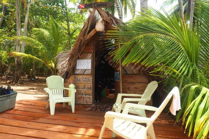 Nicaragua - Derek's Dive Shop, Little Corn Island, Nicaragua