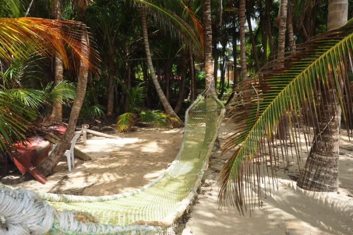 Nicaragua - Homemade hammock, Little Corn Island, Nicaragua
