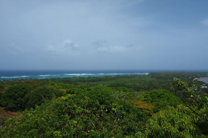 Nicaragua - The view from the lighthouse, Little Corn Island, Nicaragua