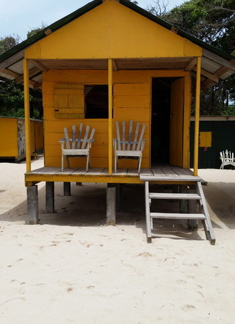 Nicaragua - Our little cabin at Elsa's, Little Corn Island, Nicaragua