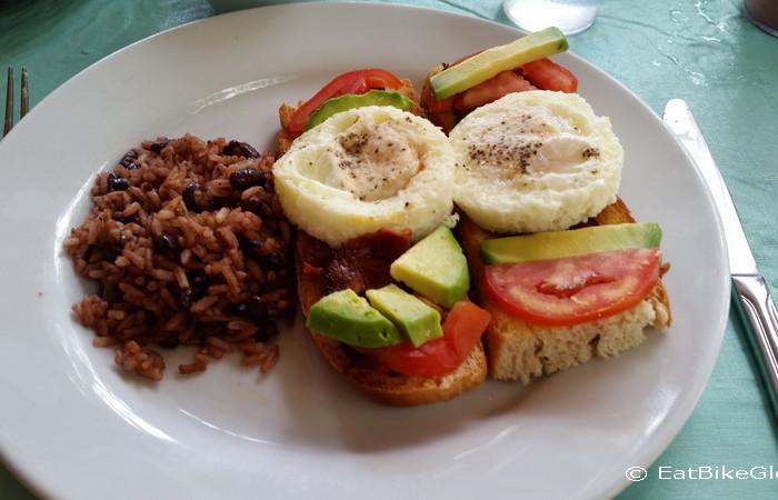 Nicaragua - Breakfast at the Turned Turtle, Little Corn Island, Nicaragua