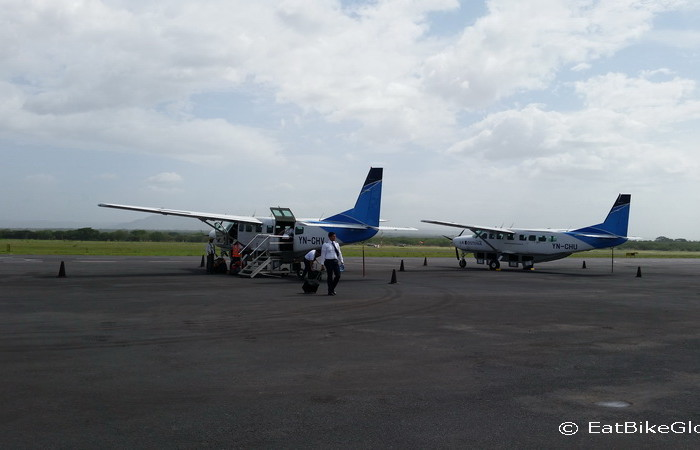 Nicaragua - Our plane to the Corn Islands!