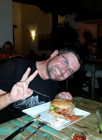 Nicaragua - Dinner at El Camello, Granada, Nicaragua