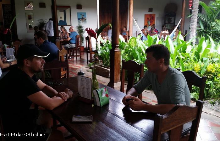 Nicaragua - Breakfast at the lovely Garden Cafe, Granada, Nicaragua