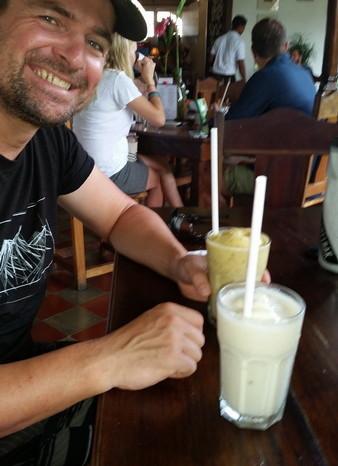 Nicaragua - Yummy smoothies, Granada, Nicaragua