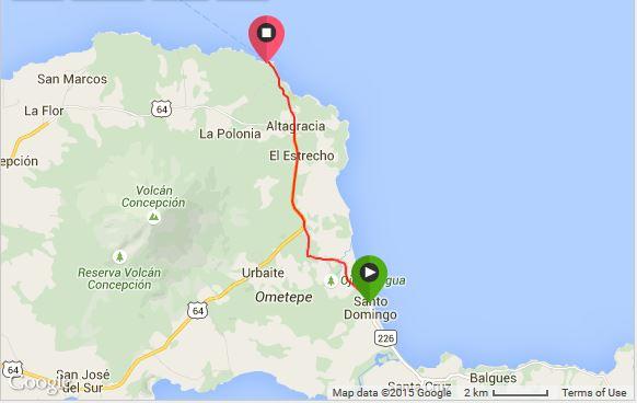 Playa Santo Domingo to Altagracia