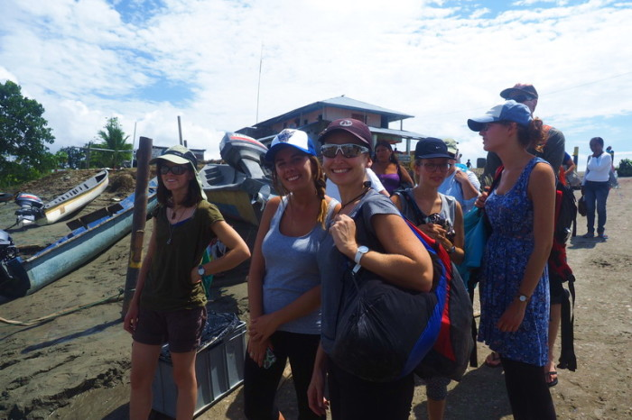 Amazon - Waiting to board our boat to Nicky Lodge