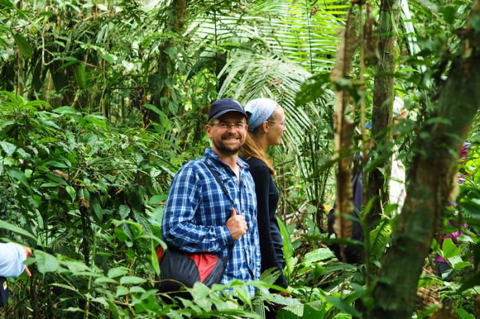 Amazon - David and Rachel, Cuyabeno Reserve, Amazon Rainforest
