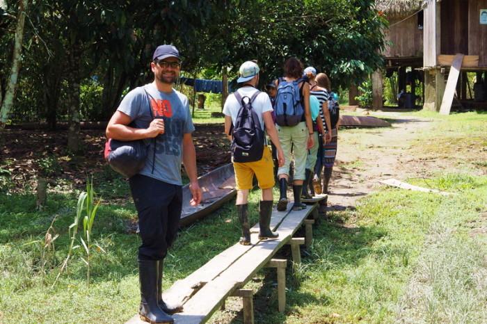 Amazon - Visiting the local community farm