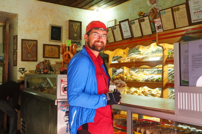 "Ecuador - We couldn't leave Cuenca without visiting ""Maria's Alemania"" German Bakery!"