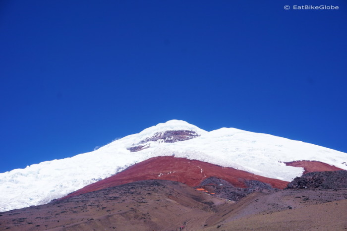 Ecuador - View of Cotopaxi from the Cotopaxi Refuge