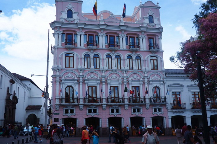 Ecuador - Hotel Plaza Grande, Quito