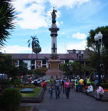 Ecuador - Quito's Plaza Grande