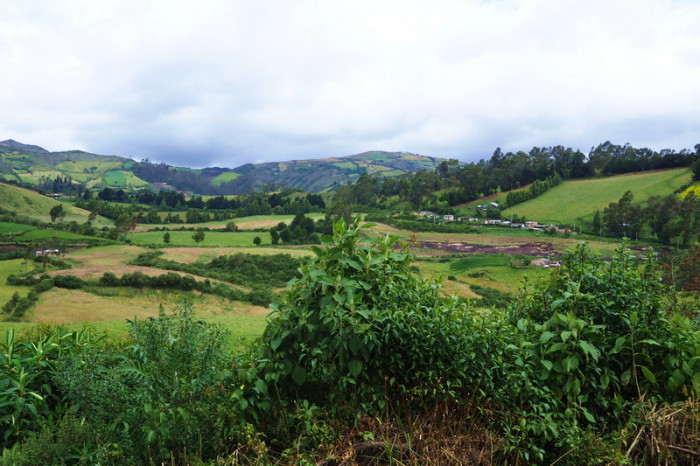Ecuador - Beautiful scenery on the way to San Gabriel