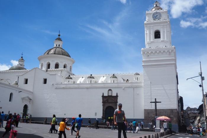 Ecuador - Iglesia de la Merced, Quito