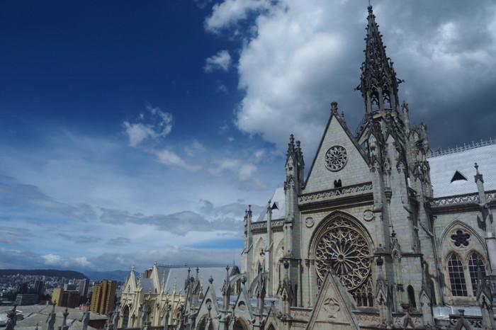Ecuador - Basilica del Voto Nacional, Quito