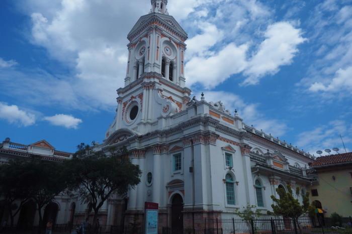Ecuador - Iglesia de San Francisco, Cuenca