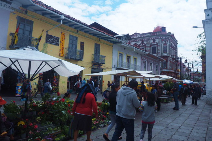 Ecuador - Historic streets of Cuenca